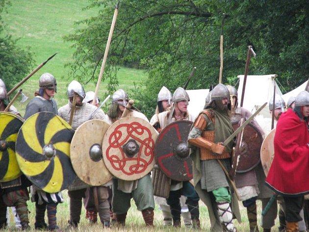 Vikingové řádili na Brdečném u Neveklova