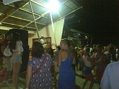 Taneční akce na Rabyni.
