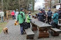 Na Silvestra se plno nadšenců vydalo na výlety. Třeba od krasovického Domu přírody Blaníku.