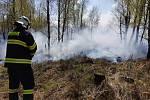 Zelený čtvrtek značně potrápil středočeské hasiče.