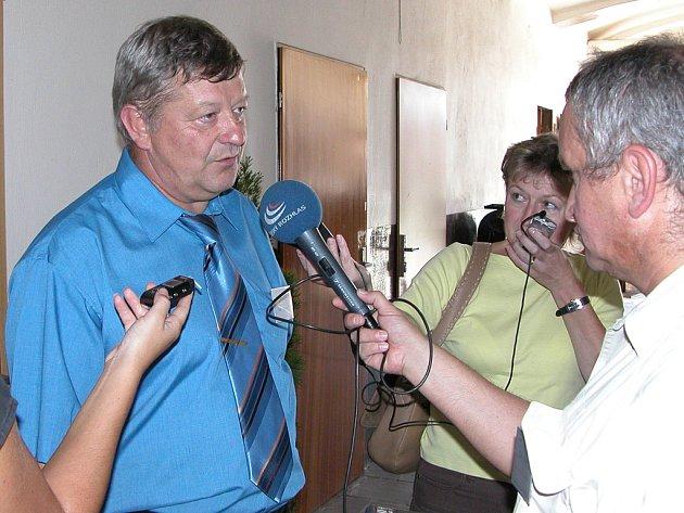Rozhovor jankovského starosty po vítězství v roce 2006.