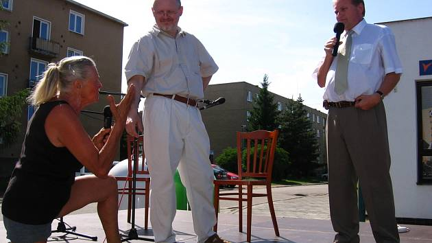 Starosta Týnce diskutoval s obyvateli