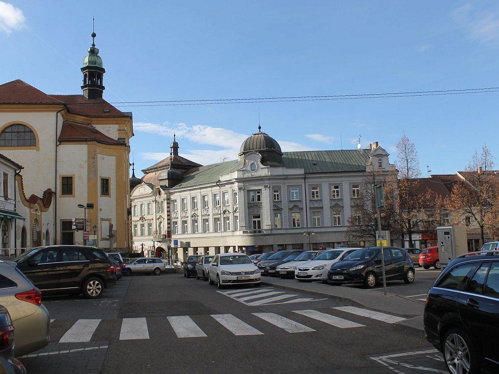Benešovský hotel Pošta
