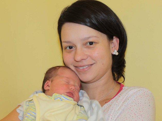 Lilien Vlkannova s mámou Marcelou, Benešov