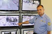 Vrchní strážník benešovské městské policie Jaroslav Trojánek.