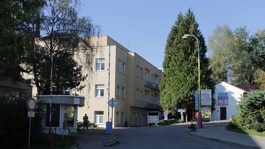 Areál benešovské nemocnice