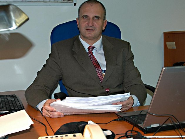 Michal Oščipovský, ředitel Nemocnice Rudolfa a Stefanie v Benešově.