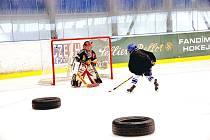Soustředění vlašimské hokejové mládeže.
