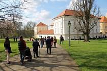 Ve vlašimském zámku sídlí také Muzeum Podblanicka.