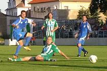 II. fotbalová liga Vlašim - Bohemians Praha 0:1