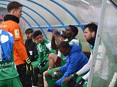 V prvním přípravném zápase nestačila druholigová Vlašim na prvoligové Teplice.