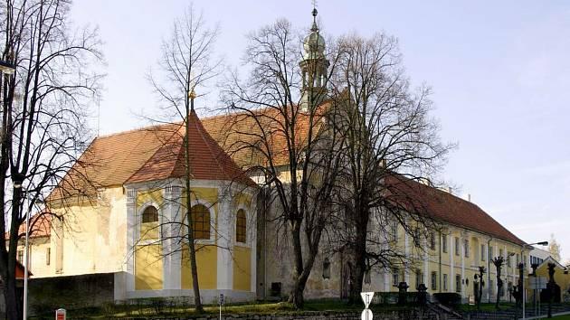 Kostel sv. Františka ve Voticích.