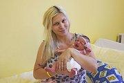 22. července v9.17 se sváhou 3470 gramů narodila malá Amélie Smolíková. Její rodiče, Michaela Masárová a Filip Smolík, se už těší, až ji doma ve Stříbrné Skalici představí Bartoloměji (3,5).