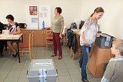 Druhé kolo senátních voleb senátního obvodu 41. Benešovský volební okrsek číslo 4.