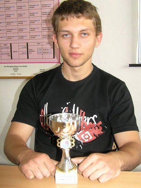 S pohárem za třetí místo v družstvech se těší Adam Smolík