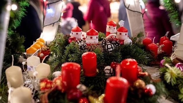 Vánoční trhy. Ilustrační foto.