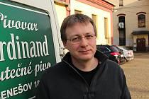 Jednatel Pivovaru Ferdinand Petr Dařílek.