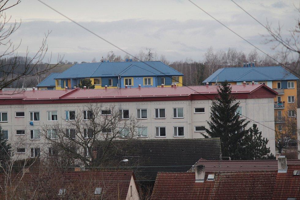 V Bystřici u Benešova na začátku roku 2021.