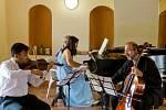 Festival klasické hudby a jazzu se v Tloskově uskutečnil již potřetí.