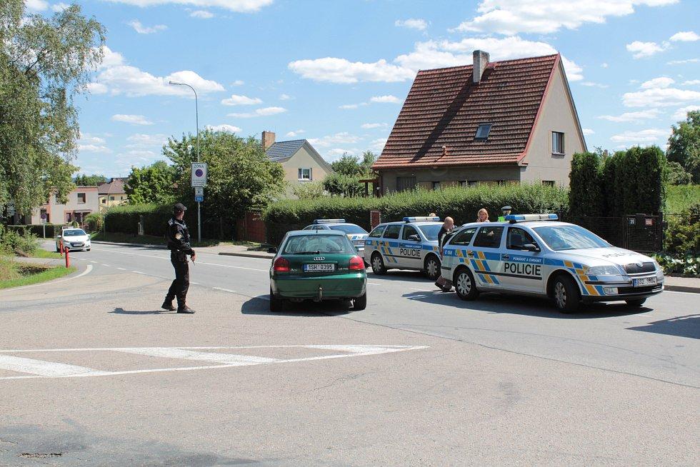 Tragická dopravní nehoda na okraji Benešova.