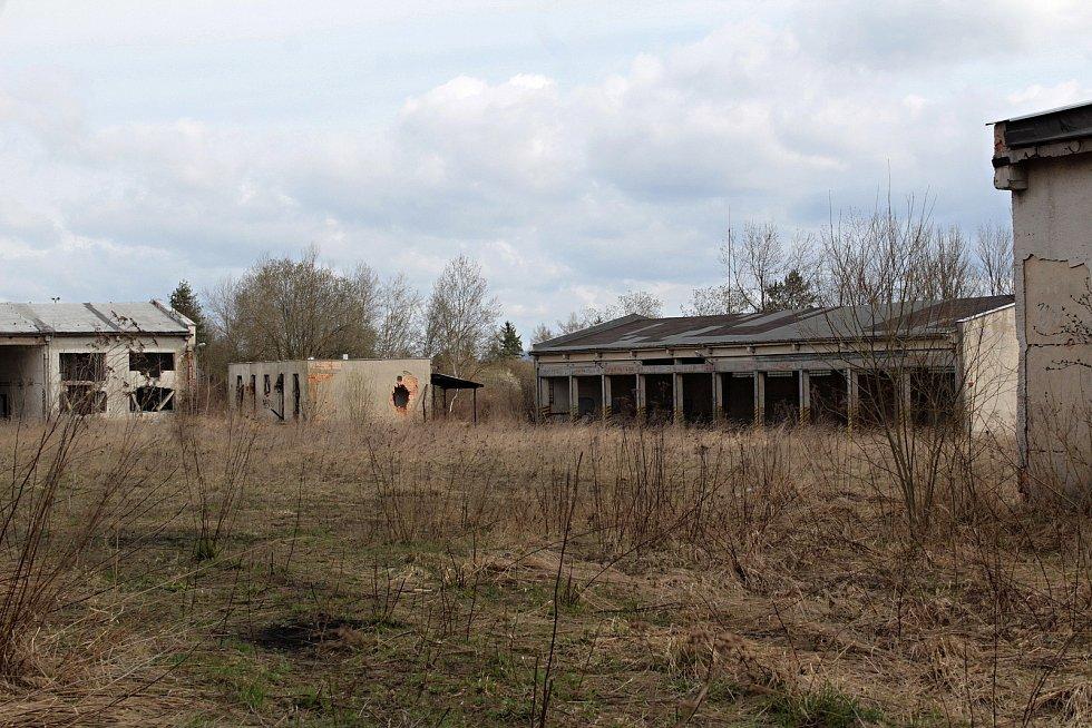 Areál bývalých Táborských kasáren v Benešově.