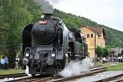 Tuto parní lokomotivu nazývají Ušatá nebo také Bulík.