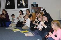 Děti si vysloužily bouřlivý potlesk a obdiv publika.