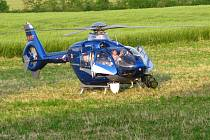 Policie hledala dvojici pachatelů v okolí lomu Bořená Hora, což neuniklo pozornosti místních obyvatel.