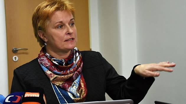 Ředitelka Krajské hygienické stanice Středočeského kraje Jarmila Rážová.