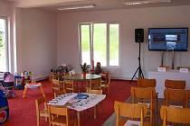 Otevření modulové školky v Teplýšovicích.