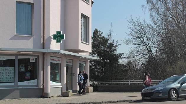 Lékárna v Lidické ulici ve Vlašimi.