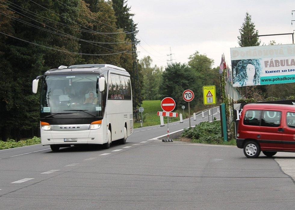 Od 5. do 15. října sjíždí vozidla směr Praha do benešovské Křižíkovy ulice.