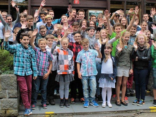 Předávání cen žákům z benešovských ZŠ, kteří dosáhli výrazných úspěchů v letošním školním roce.