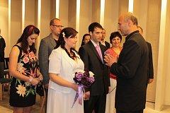 Svatba Květy Kohoutkové a Maroše Galamba.