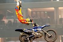 Libor Podmol skáče na prvním seriálu mistrovství světa.