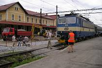 Benešovské nádraží.