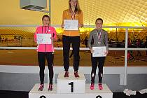 Monika Doubková skončila na třetím místě ve stopadesátce a převzala tak bronzovou medaili.