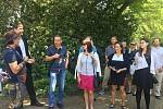 Ze setkání zástupců samospráv v Líšně.