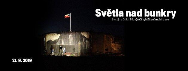 Světla nad bunkry - 4.ročník dobrovolnické akce kvýročí všeobecné mobilizace čs. branné moci 1938.