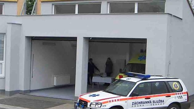 Výjezdové stanoviště Zdravotnické záchranné služby v Jesenici u Prahy