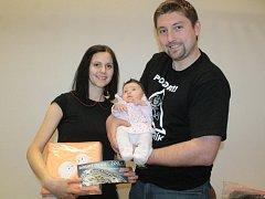 Kristýnka Bulanová se stala NEJ miminkem února.
