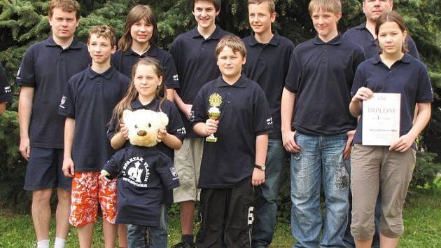 vlašimský mládežnický šach dočkal velkých úspěchů i v kolektivních soutěžích