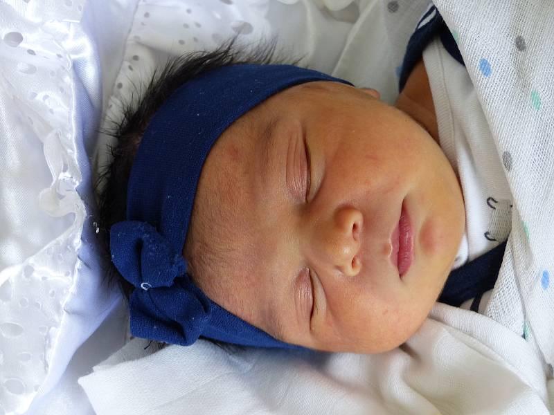 Julie Faková se narodila 3. května 2021 v kolínské porodnici, vážila 3530 g a měřila 49 cm. Do Plaňan odjela s maminkou Julií a tatínkem Martinem.