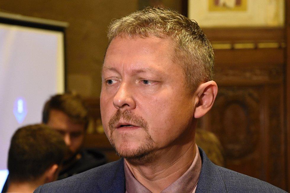 Bývalý ředitel Integrované dopravy Středočeského kraje (IDSK) Michal Štěpán.