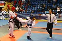 Štěpánka Benešová se Taekwon-Do věnuje už několik let.