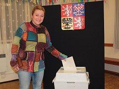 Druhé kolo senátních voleb ve 41 senátním obvodu v Bukovanech.