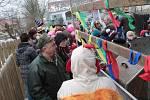 Zaječický masopust se konal v sobotu 17. února.