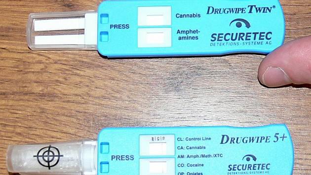 Tester  Drugwipe 5+.