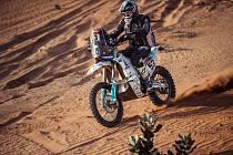 Libor Podmol v etapě číslo pět na Dakaru 2021.