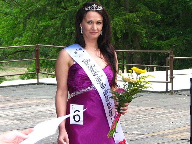 Petra Černucká, Miss hasička sympatie Středočeského kraje 2015 – finále soutěže krásy na Konopišti 23. května.